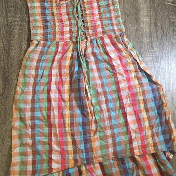 Band of Gypsies Dresses & Skirts - Band Of Gypsies Strapless Dress Multi Colored